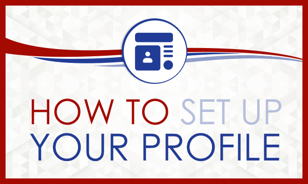 How to set up your Profile