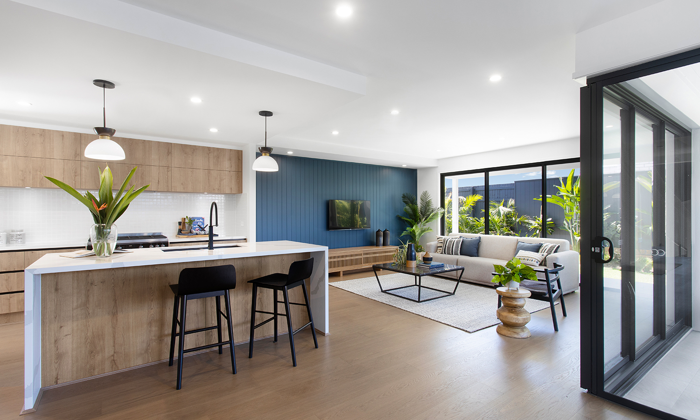 Ausbuild Harwood Kitchen Living 1500x900