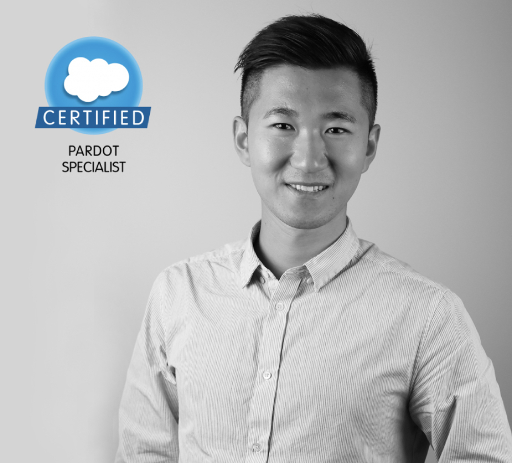 Congrats to Fan on passing his #Pardot Specialist exam