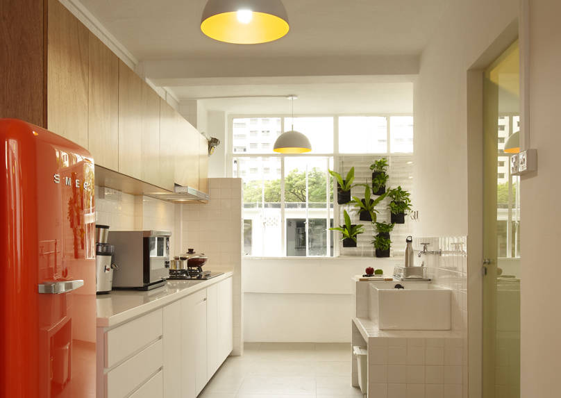 add colour with kitchen appliances