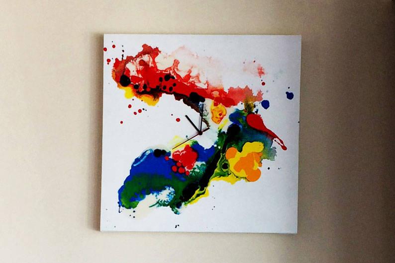 Art-Painting-Clock