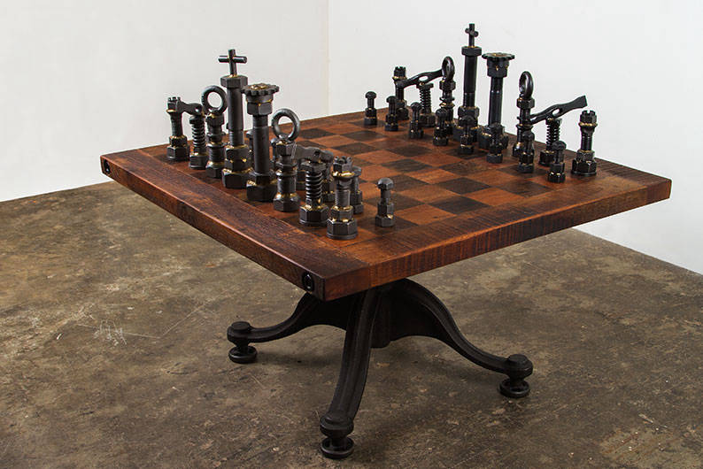 District eight design chess set from journey east for District 8 furniture
