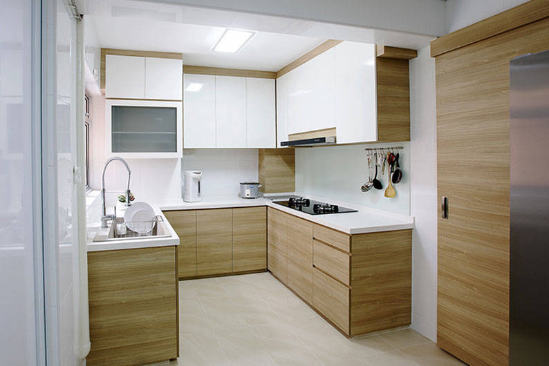 wooden kitchen interior design. 1  A Hint Of Wood By Northwest Interior Lookboxliving