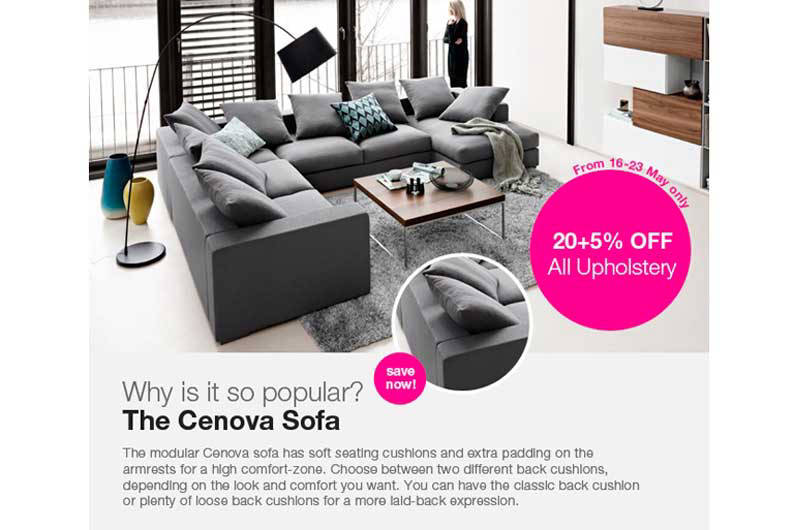 Boconcept Design Sale Preview Lookboxliving