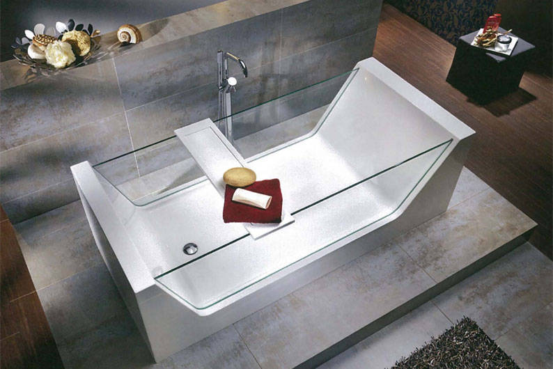 Knief look bathtub from sansei lookboxliving for Knief tubs