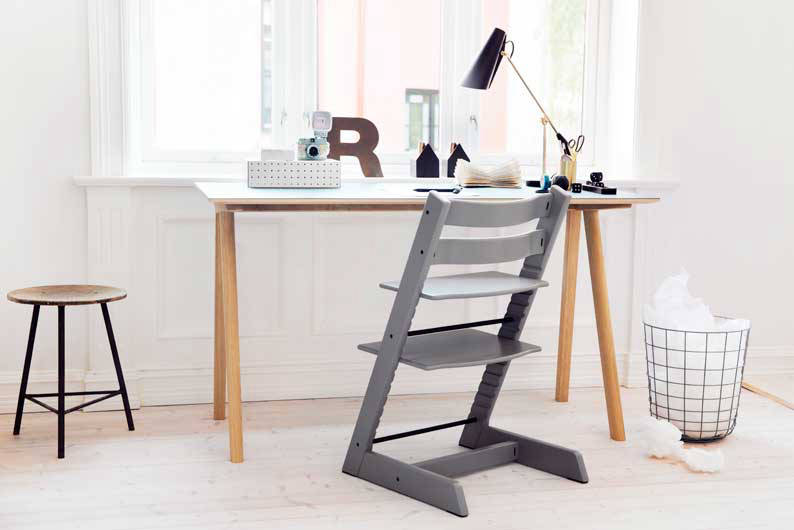 tripp trapp high chair by stokke lookboxliving. Black Bedroom Furniture Sets. Home Design Ideas