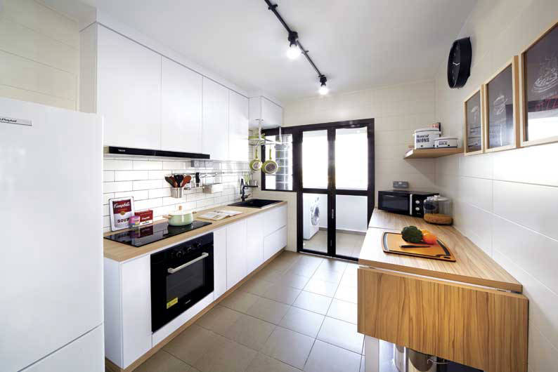 7 No Reno Ways To Visually Upsize Your Kitchen Lookboxliving