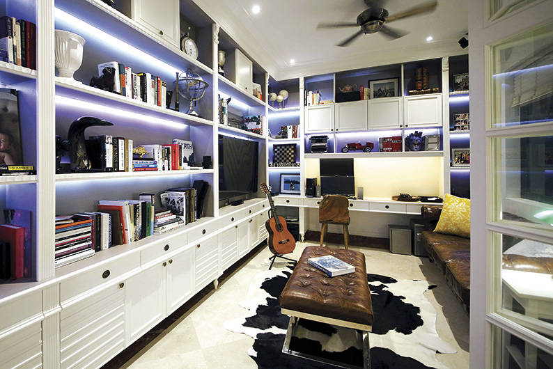 Home Office_Interior Library