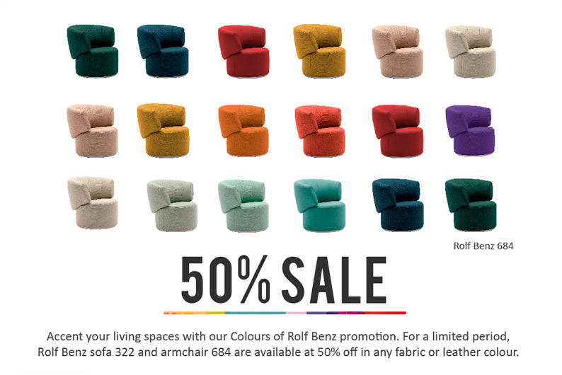 Colours Of Rolf Benz Promotion Lookbox Living