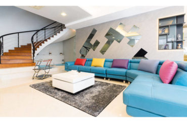 Bespoke Touches to a Bungalow by D' Initial Concept
