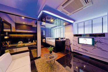 Solo studio apartment by D' Initial Concept