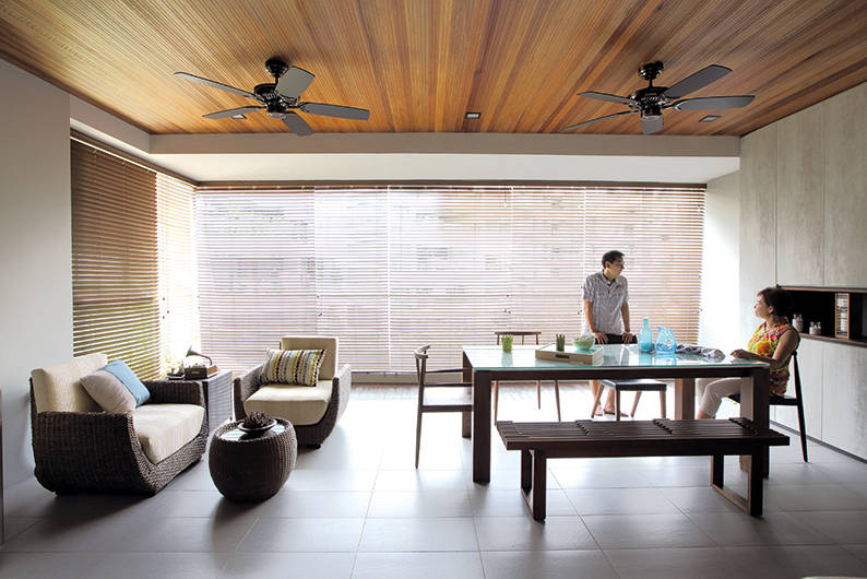 Two sons create the ultimate Zen-inspired condo apartment for their ...