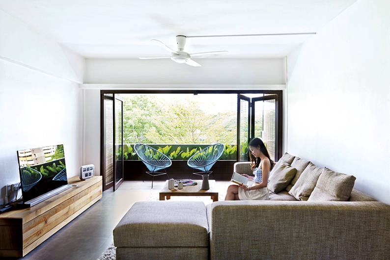 Bask in the tropical vibe of this Balinese-inspired 5-room HDB ...