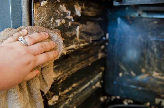 Oven Scrubbing