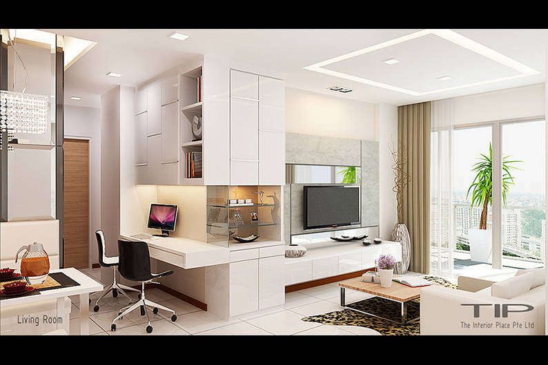 Designers Create Brilliant Multipurpose Space Out Of A Small 2 Bedroom Condo Apartment Lookboxliving