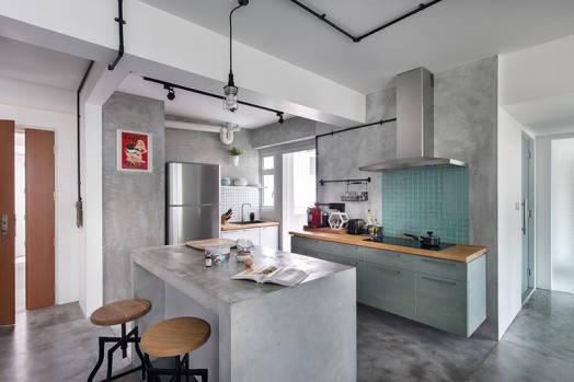 Industrial Cement - Artistroom Edgefield