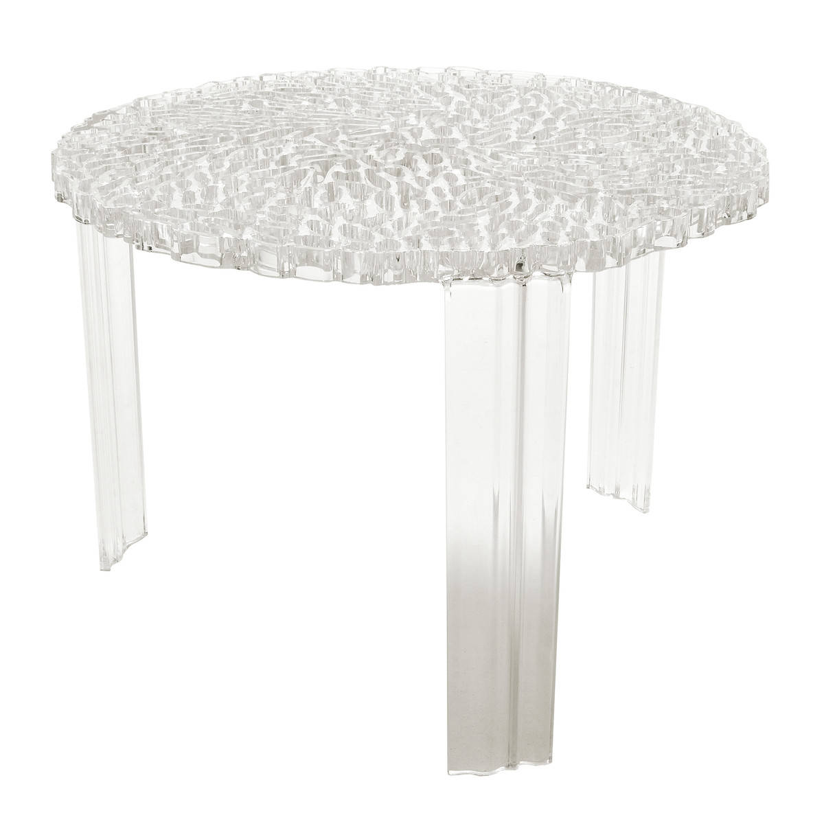 Winter Wonderland Style up your home with metallic textures ‹ Lookbox Living -> T Table Kartell