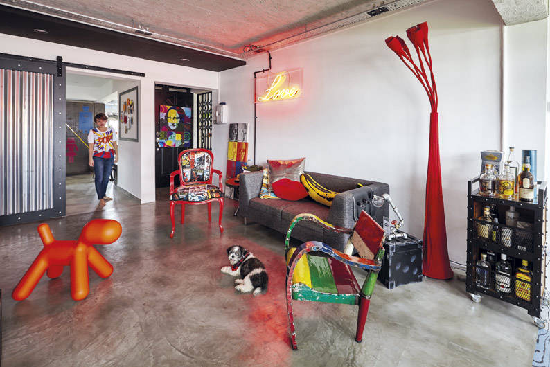 6 Eclectic Homes That Look Like Art Galleries Lookboxliving