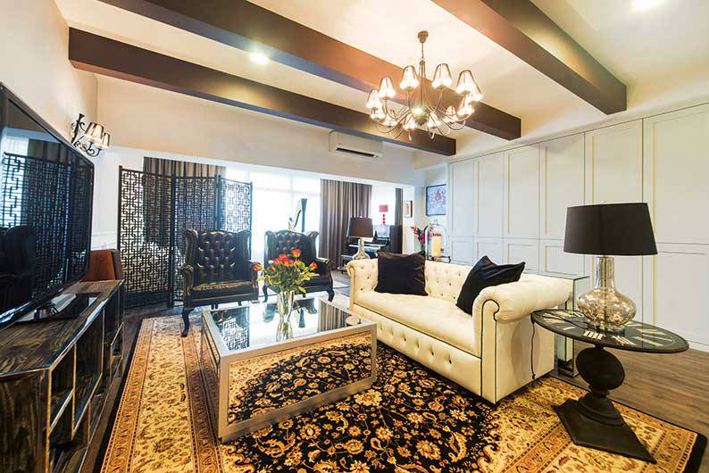 The Beauty Of The English Colonial Style Comes To Life In This 3