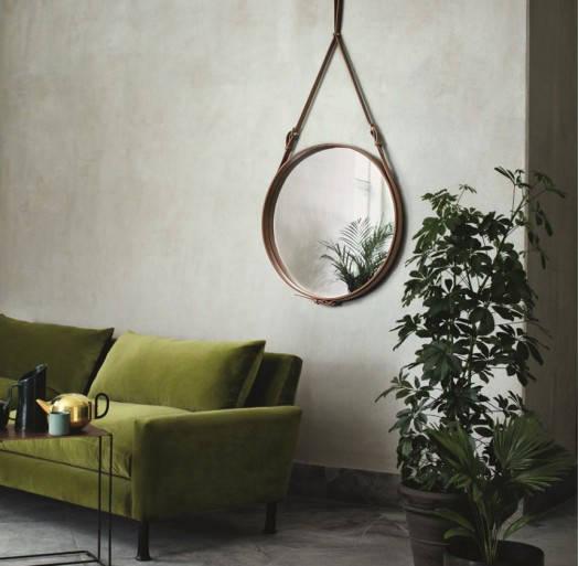 Danish Design - Adnet Round Mirrior 02