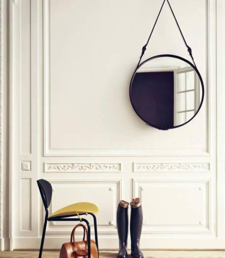 Danish Design - Adnet Round Mirrior 03
