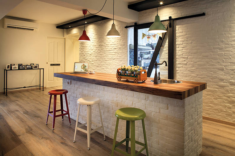 Kitchen Island - Linear Space (LB36)