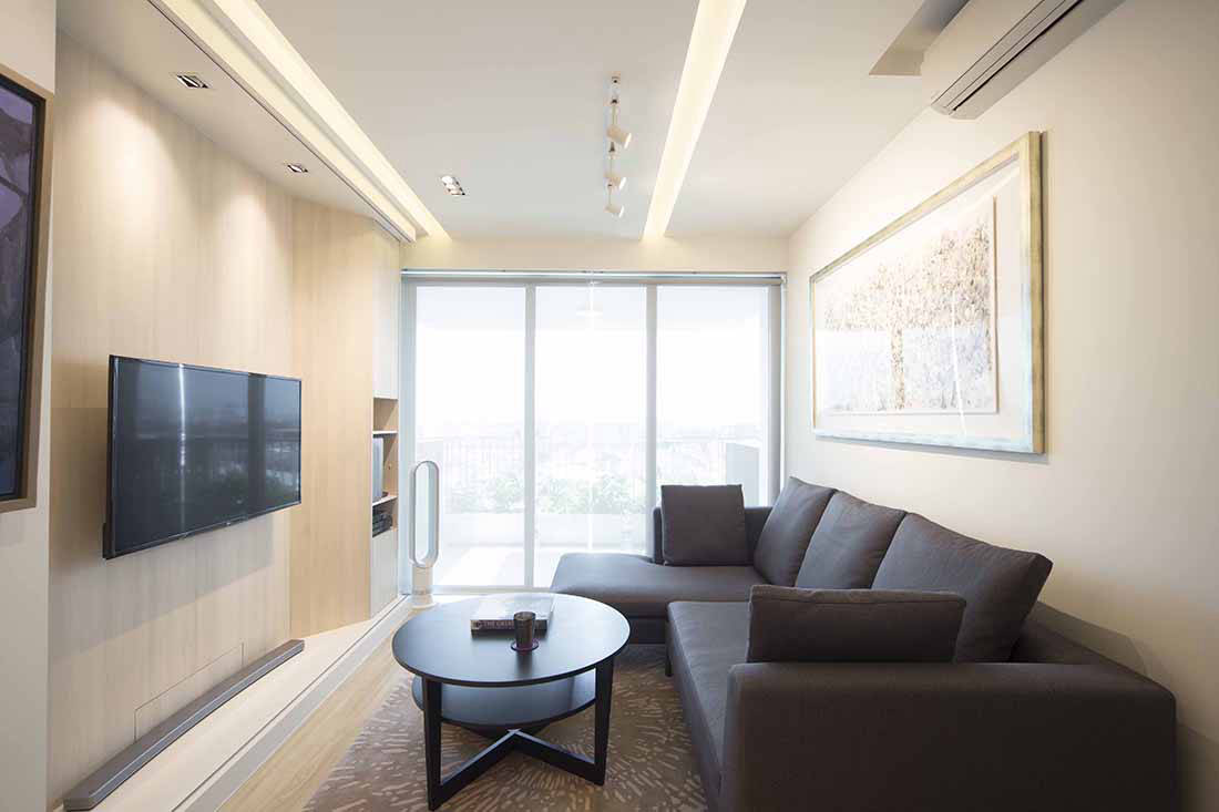 See how sliding walls in this apartment transform the ...