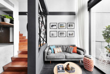 A one-bedroom studio loft fitted with everything you'd ever need