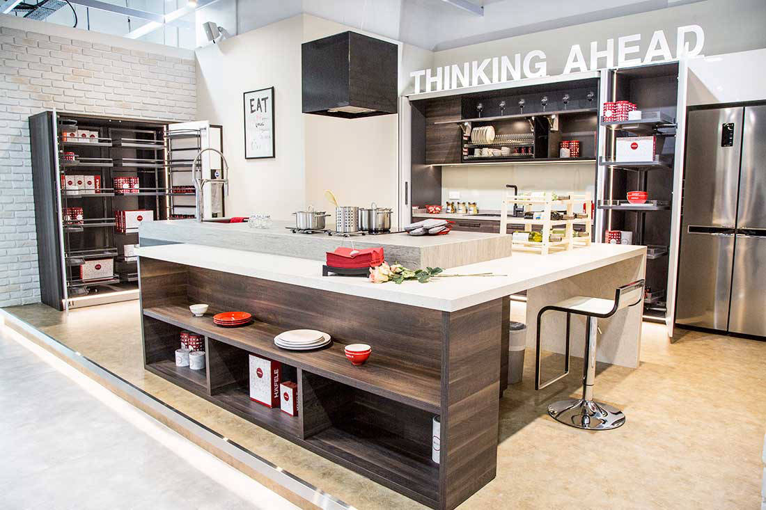 Designing the kitchen of the future with h fele lookbox for Product design singapore