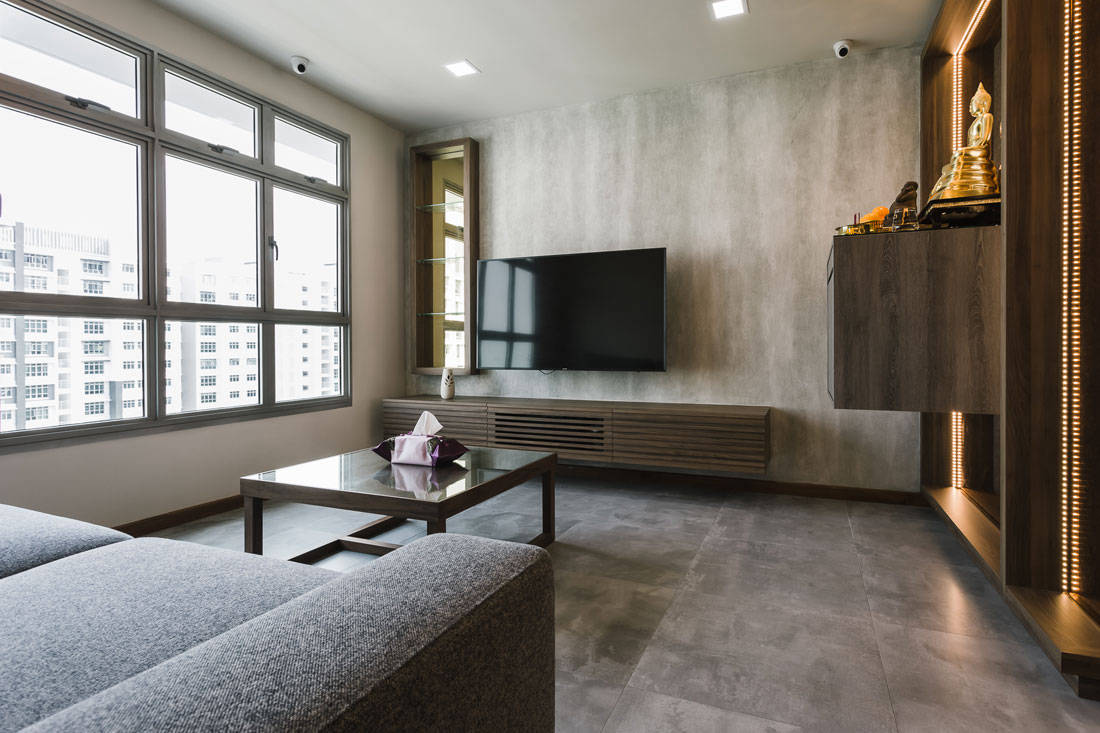 Urban resort-themed apartment with a touch of Thai  Lookboxliving