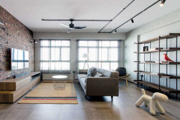 Industrial chic brings a HDB flat to life