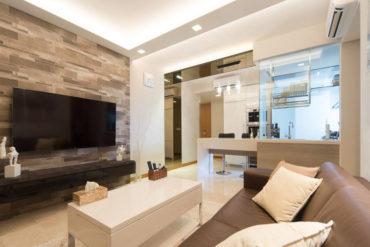 Neutral tones and contemporary elegance in this condominium home
