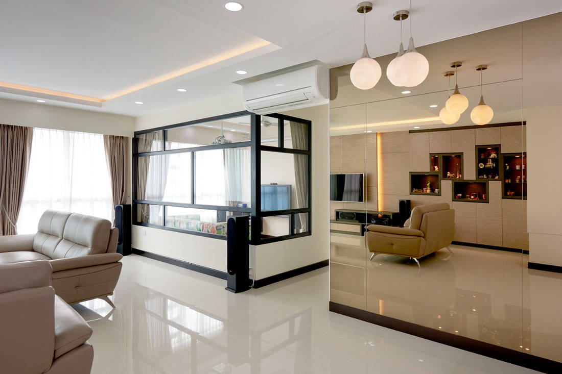 A 5 Room Hdb Bto Flat With A Chic Contemporary Look