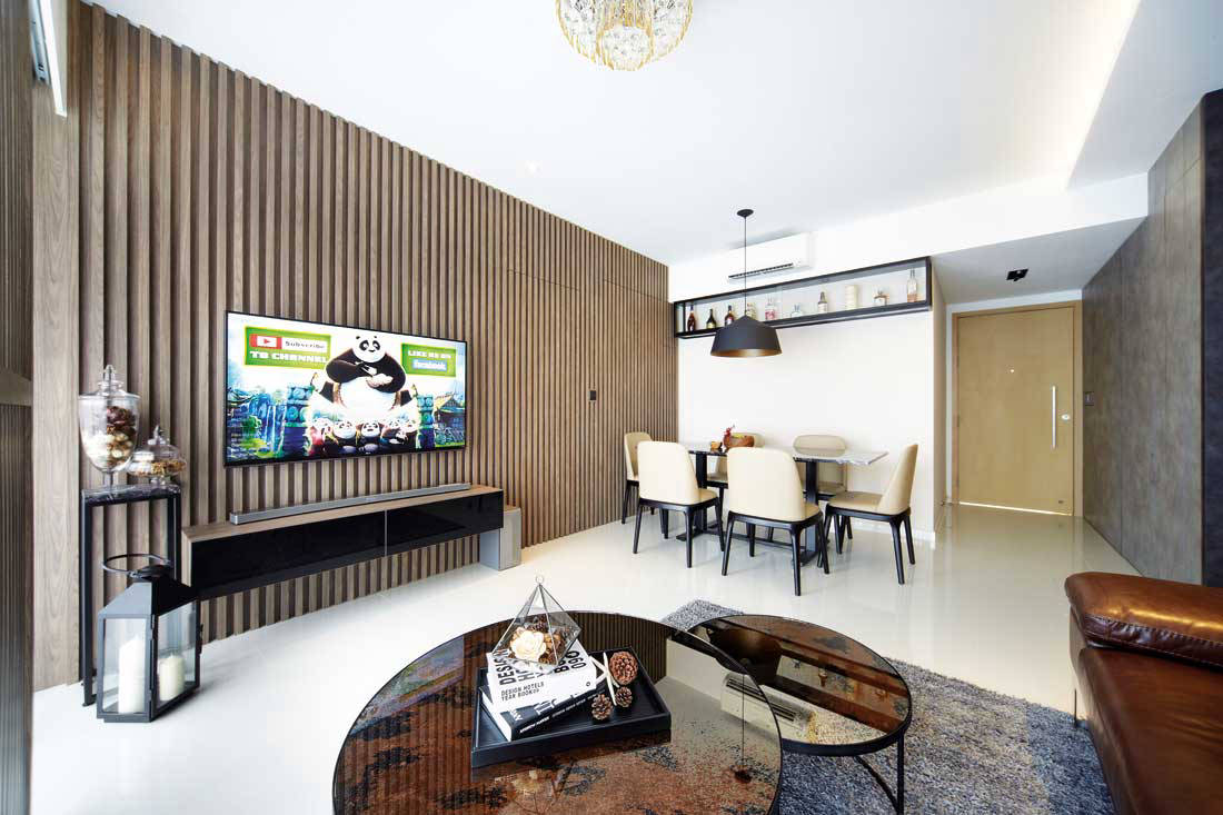A Stylish Penthouse Dictated By Feng Shui Lookboxliving