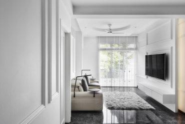$95k reno of a modern-classic-style River Valley condominium