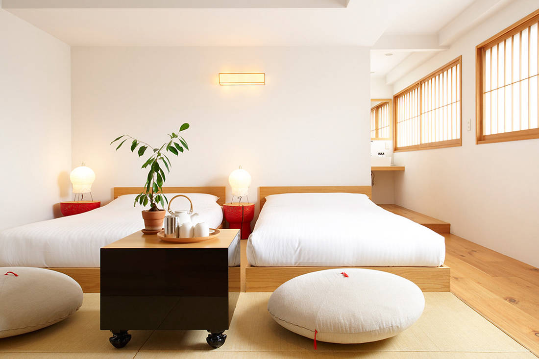 The Claska design hotel in Tokyo is both stylish and homely