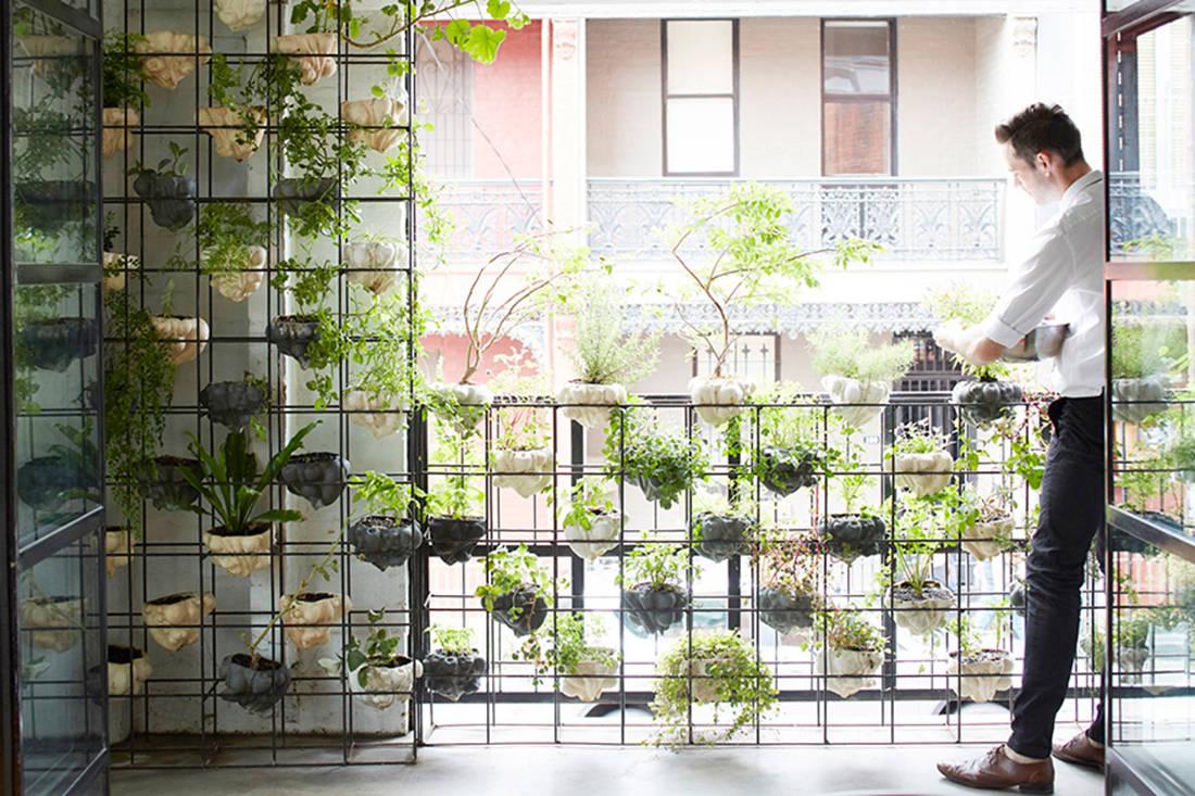 Modern Apartment Balcony Garden Ryan L Foote