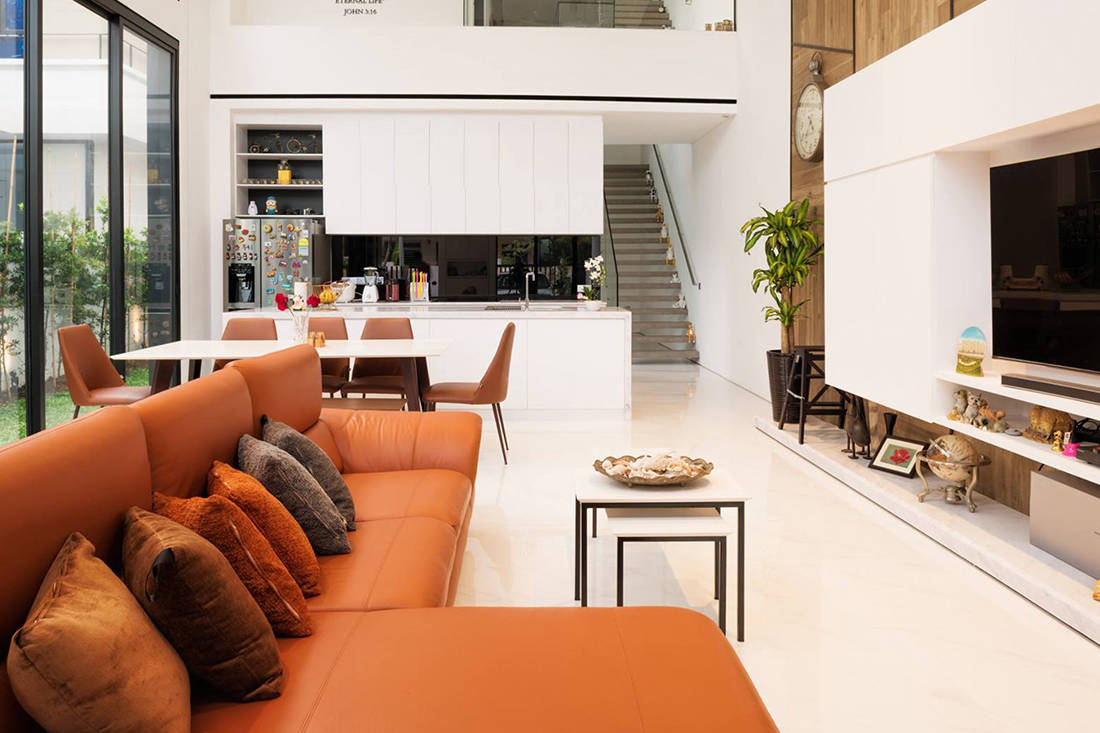 A Semi Detached House With Bright And Welcoming Spaces Lookboxliving