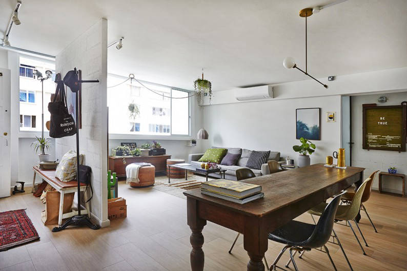 36 Charming Living Room Ideas: Vintage-chic In This Charming 5-room HDB Flat In Ubi