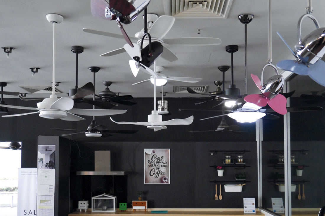 Ceiling Fan From Decor Singapore