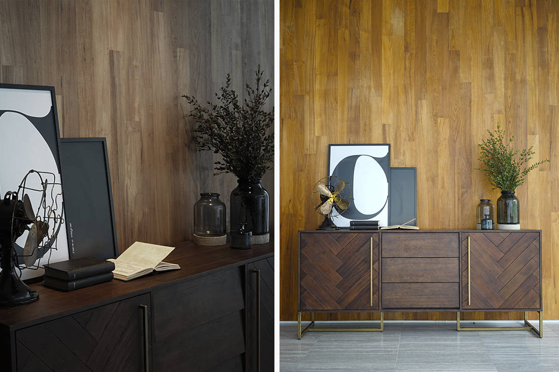 The Bruno collection from Commune merges old-world elegance and contemporary design