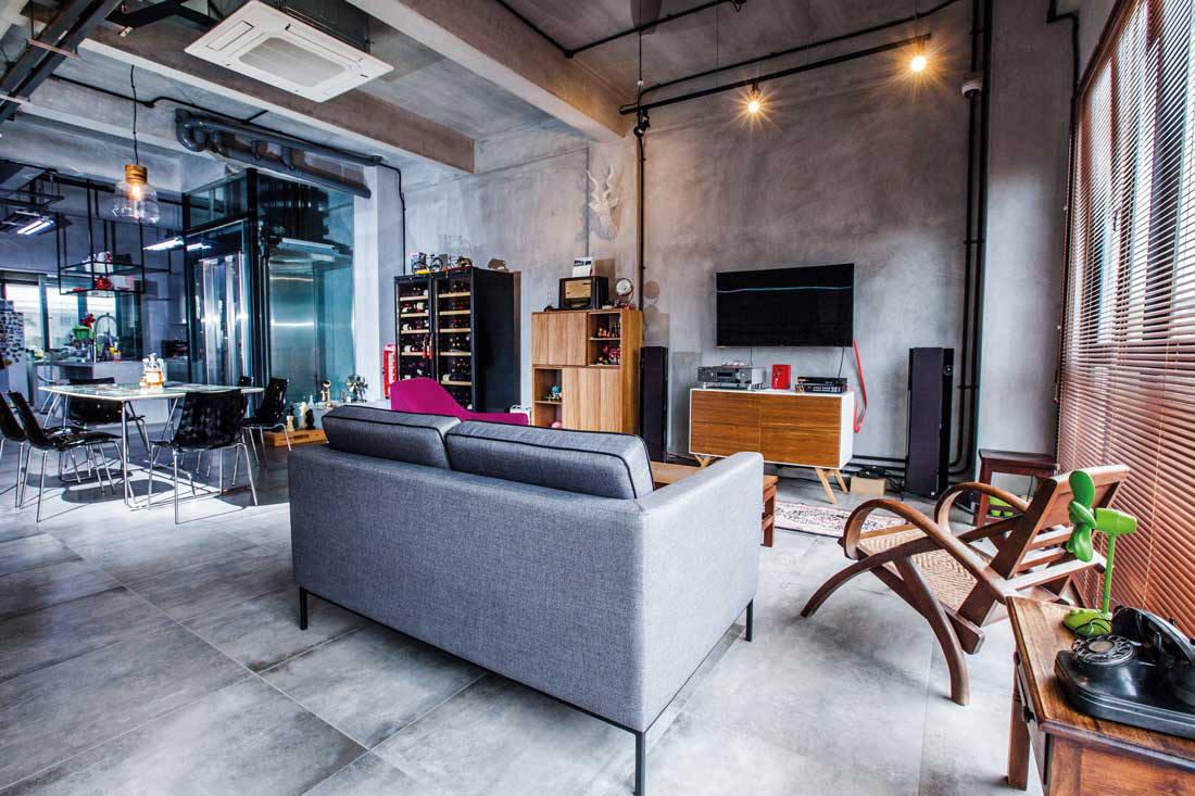 industrial meets retro in an inter terrace house lookboxliving