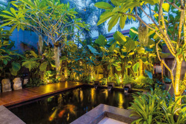 A tropical oasis in Singapore