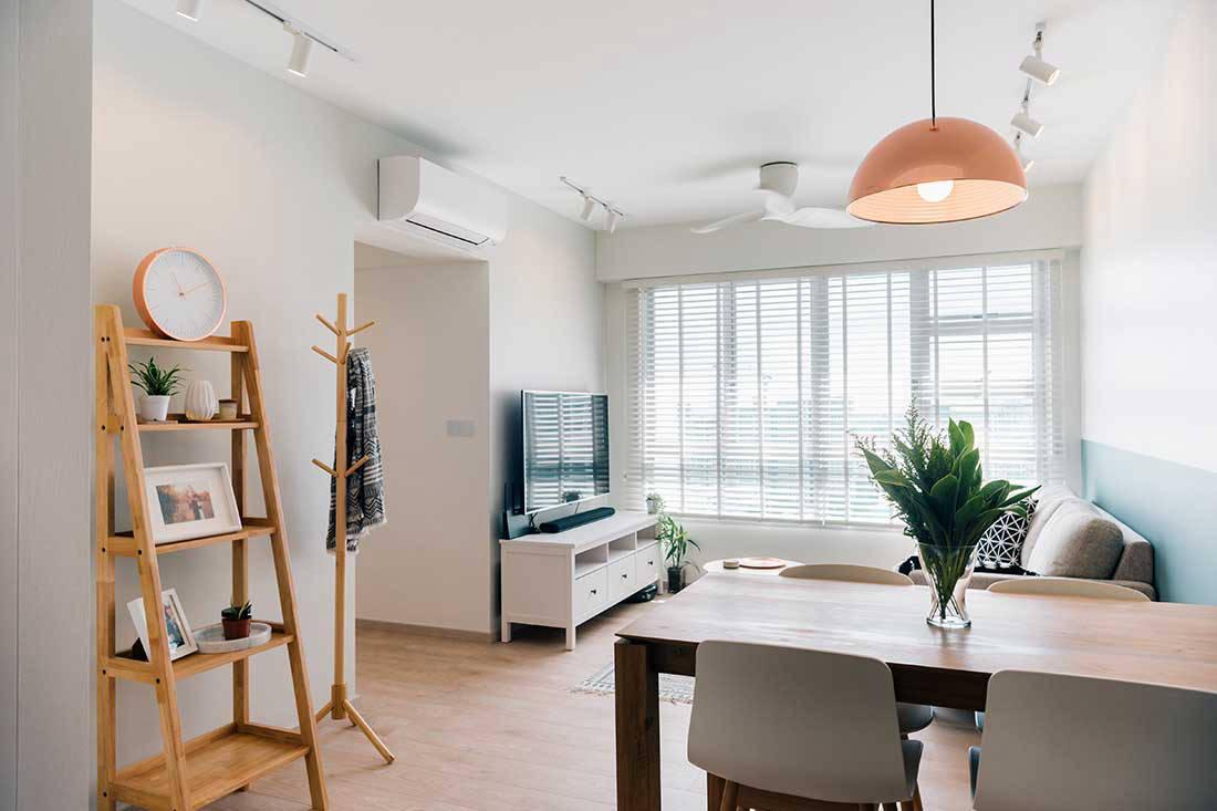 3 Room Flat a 3-room hdb flat turned retreat space | lookboxliving