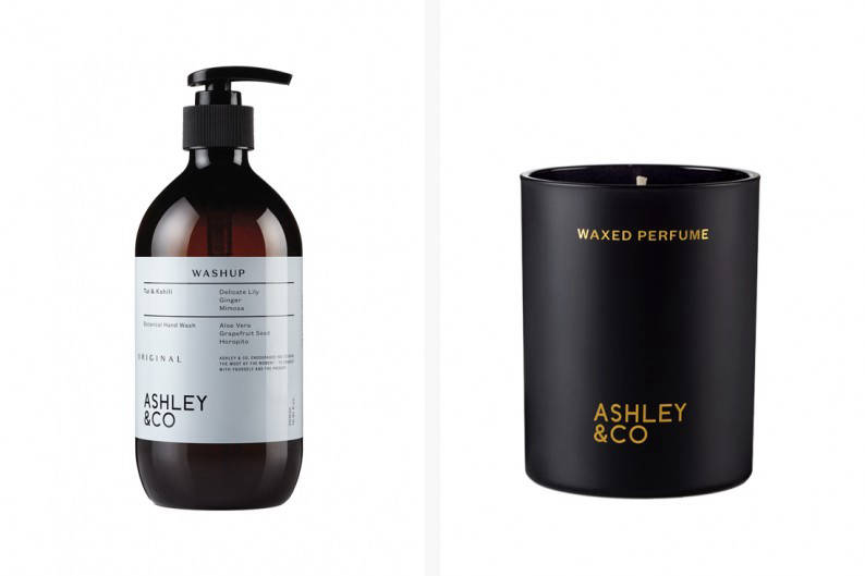 ashley & co wash and candle