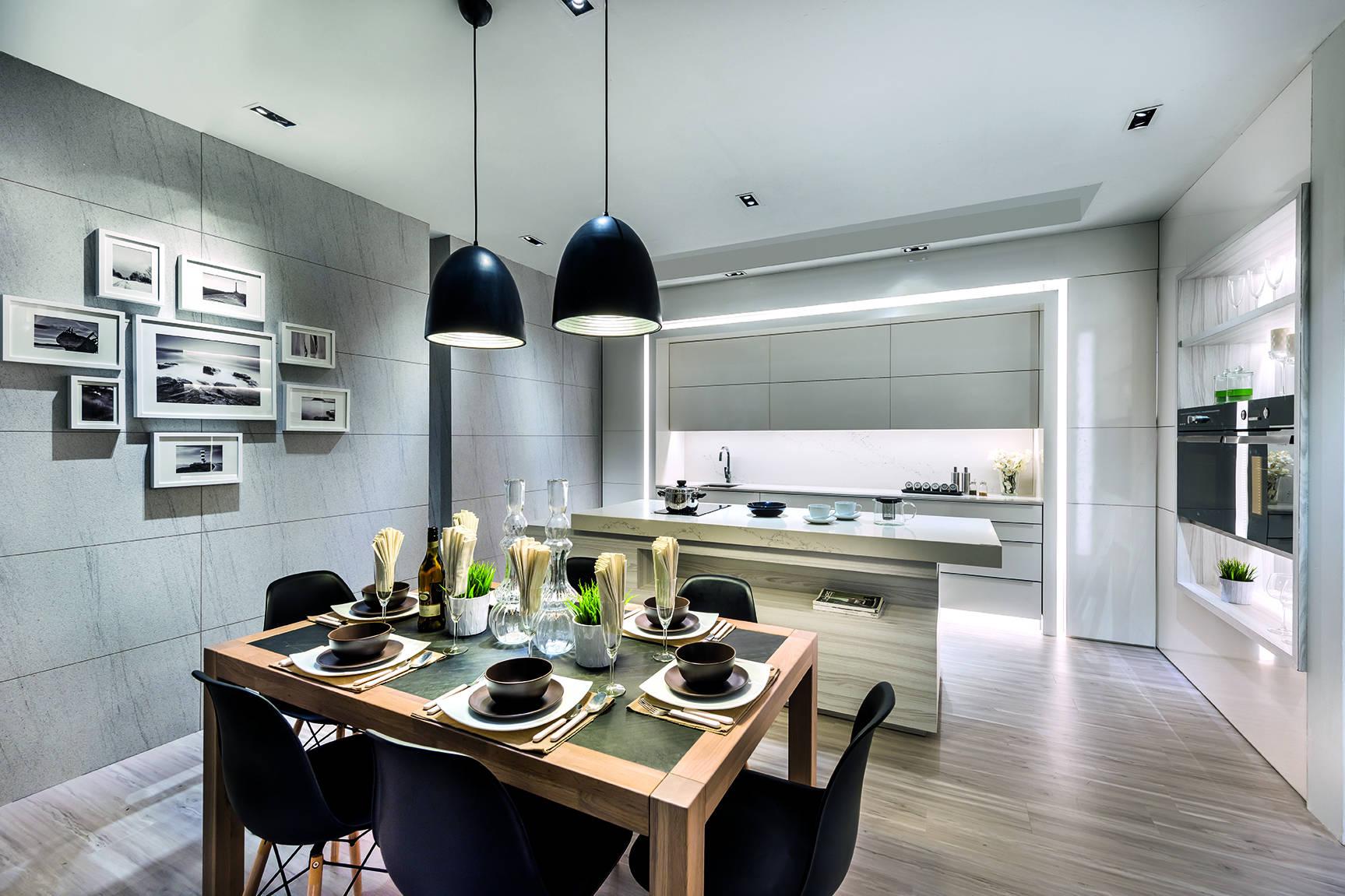 Modern Luxury Meets Space Saving Design In This Condominium Unit Lookboxliving