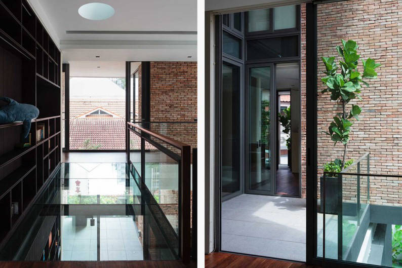 piano house corridor 2