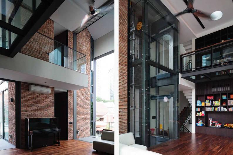 piano house corridor
