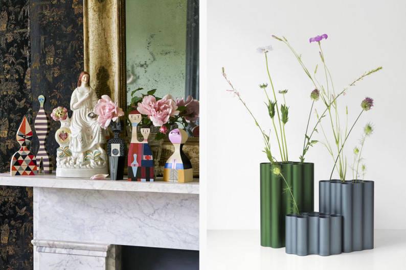 vitra dolls and vase