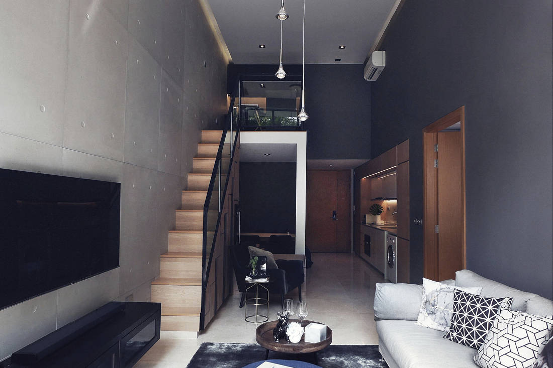 2 project name bachelor pad for the sophisticated gentleman project type 1 bedroom study loft condominium unit firm satobent interior design